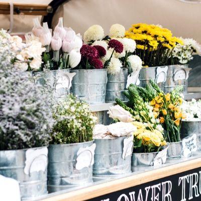 花屋の店頭