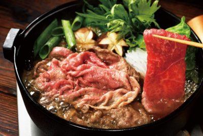 長崎和牛すき焼きセット(大)~安心の地元野菜付~
