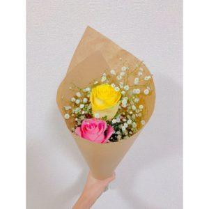 外国のバラのブーケ