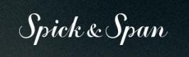 スピックアンドスパンブランドロゴ