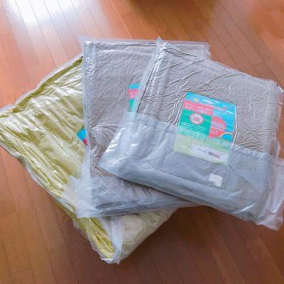 布団はすべて防ダニ・抗菌加工済