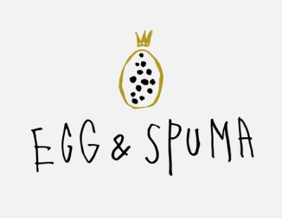 「EGG & SPUMA」公式ロゴ