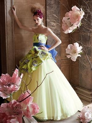 アメッサのカラードレス