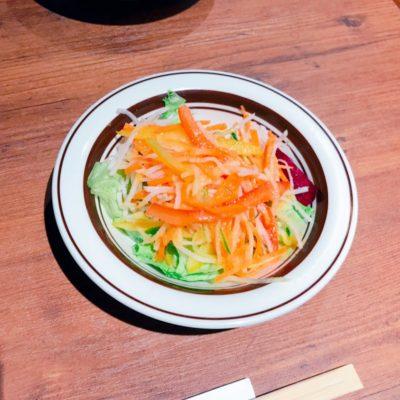 ランチセットのサラダ