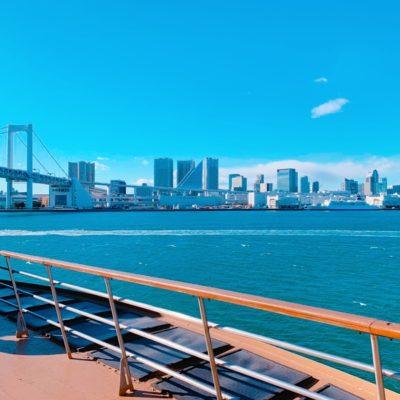 甲板から見る景色