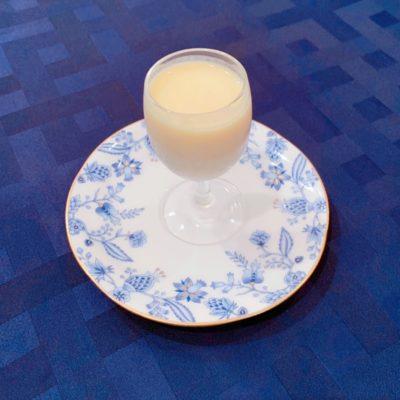 冷製コーンクリームスープ