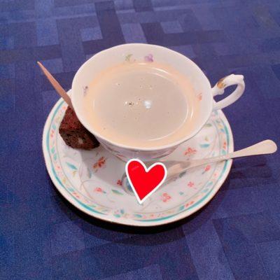 コーヒー&一口デザート