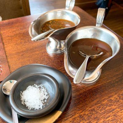 わさびソース・オニオンソース・石垣の塩