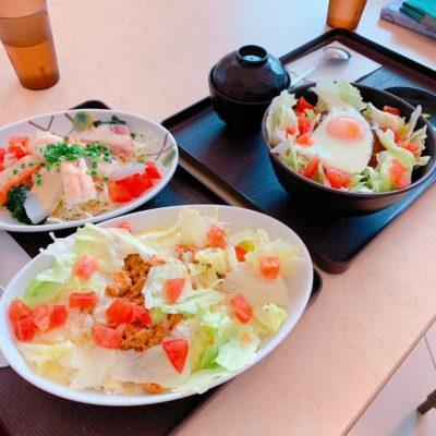 タ魚ライス・ロコモコ丼・海鮮サラダ
