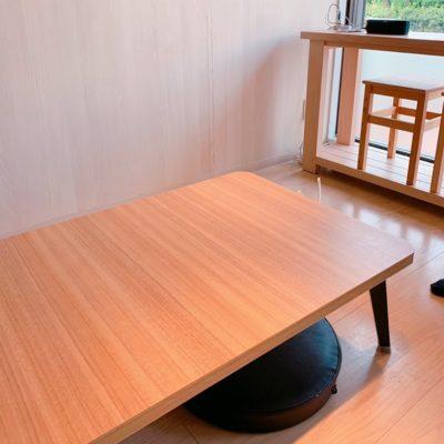 ヨガ&カフェ ブレスのテーブル席