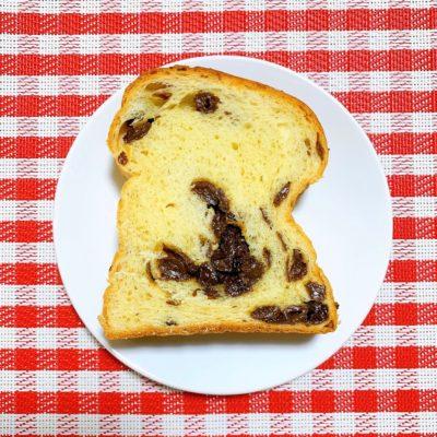 ぶどうパンの断面図
