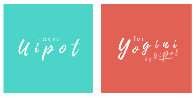 「UIPOT. tokyo」と「UIPOT for YOGINI」公式ロゴ