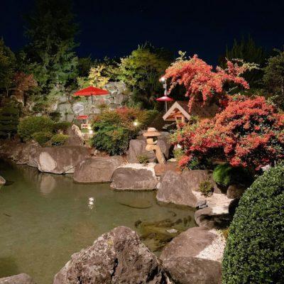 ホテル甲子園の中庭