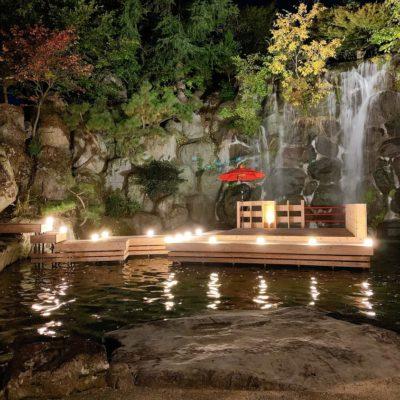 ホテル甲子園名物「滝」