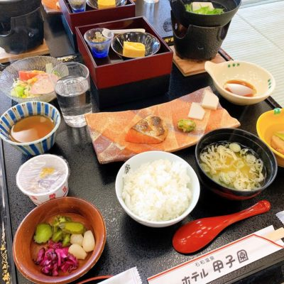 ホテル甲子園の朝食御膳