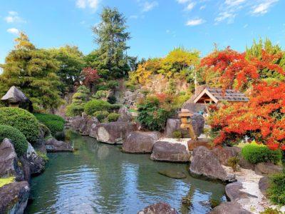 ホテル甲子園の中庭(朝)