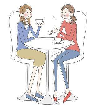 女友達のイメージ