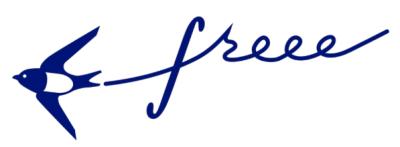 「会計フリー」公式ロゴ