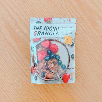 ザ・ヨギーニグラノーラのパッケージ