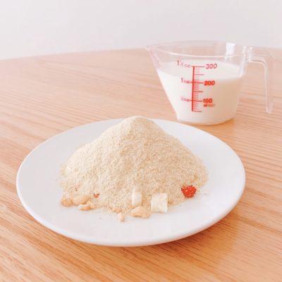 ザ・ヨギーニフード100(プレーン)×牛乳