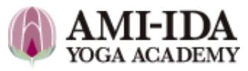 「アミーダヨガアカデミー」公式ロゴ