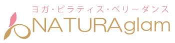 「NATURAglam」公式ロゴ