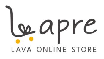 LAVA公式オンランストア「Lapre」ロゴ