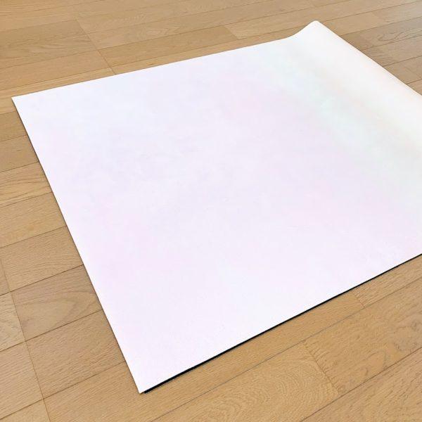 トラベルヨガマットの畳み方①「たたむ」